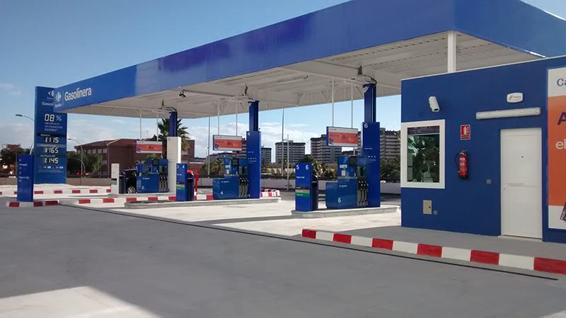 Montaje Gasolinera Low Cost